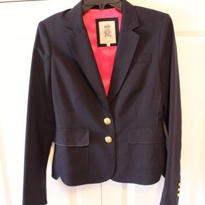Juicy Couture Navy Blazer